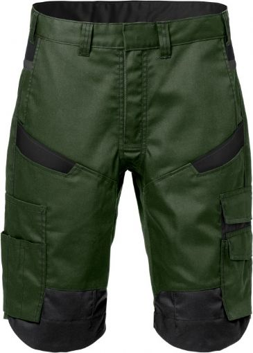 Fristads Shorts  2562 STFP  (Army Green/Black)